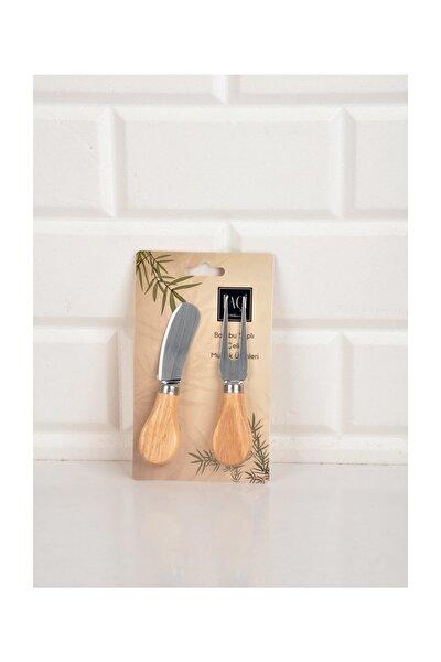 Bambulu 2'Li Peynir Bıçağı-200590
