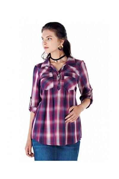 Kadın Pembe Hamile Gömleği