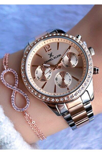 Kadın Hasır Saat-bileklik Hediyeli