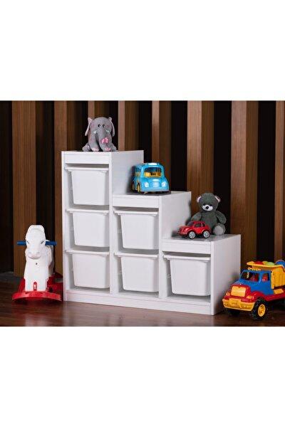 Montessori Oyuncak Dolabı Trofast Saklama Düzenleme Ünitesi