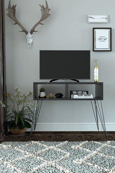 Elit Tv Sehpası - Siyah Mermer