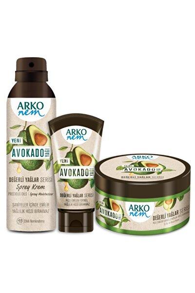 Değerli Yağlar Avokado Fırsat Seti 250 + 60 + 150 ml