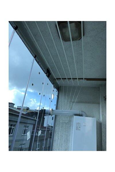 Asansörlü Çamaşırlık 6 Çubuklu 140 Cm