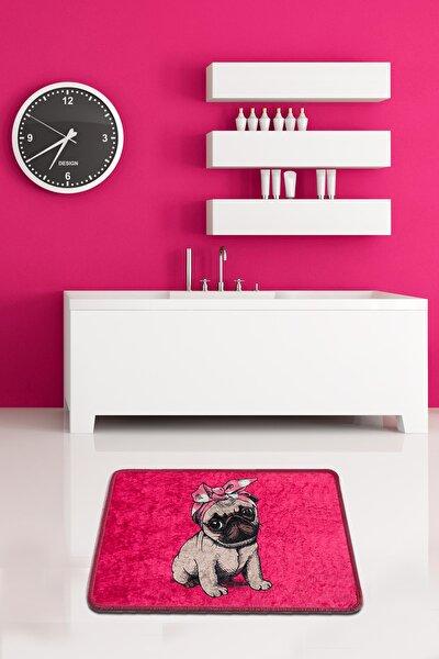 PINK PUG DJT 40x60 cm Banyo Paspası