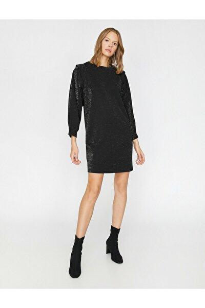 Kadın Siyah Elbise 0KAK83554EK