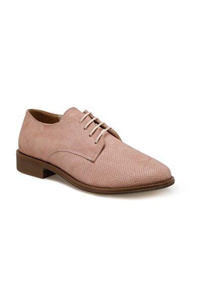 DS20055 Pudra Kadın Oxford Ayakkabı 100517621