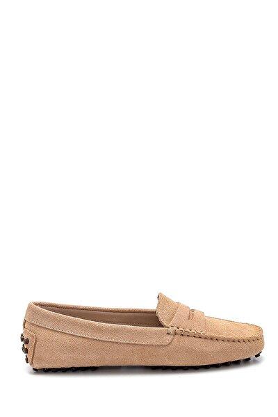 Kadın Süet Loafer Ayakkabı