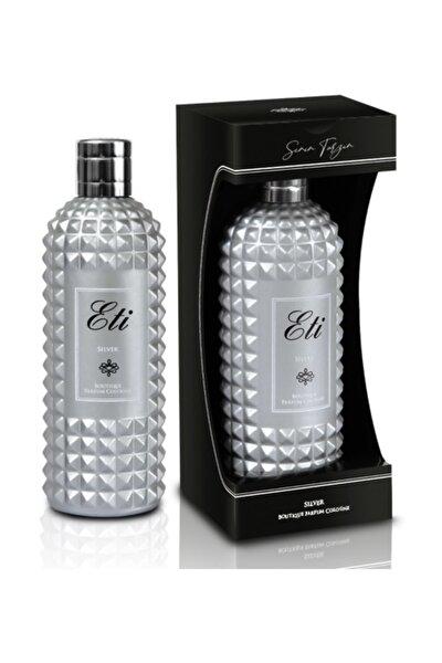 Butik Kolonya (Silver) Cam Şişe Kutulu 300 ml