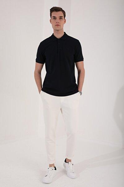 Polo Yaka Lacivert Erkek Tshirt T08ER-87748