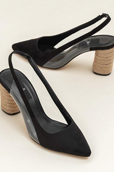 JUSTINA Siyah Kadın Ayakkabı