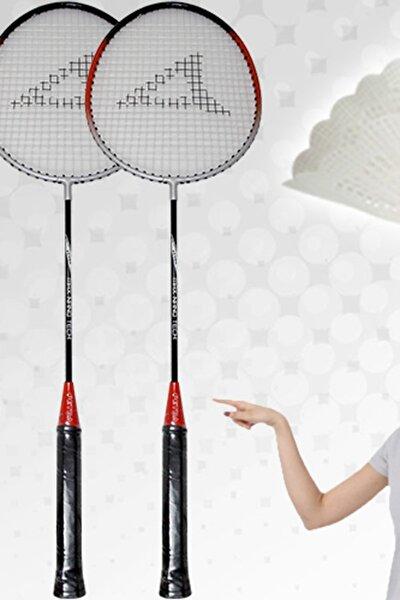 Badminton Seti 2 Raket + 1 Top