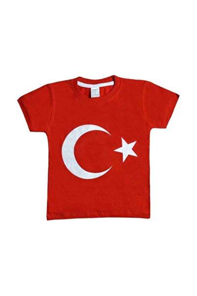 Bayrak Baskılı Çocuk Tişört / Tshirt 10001
