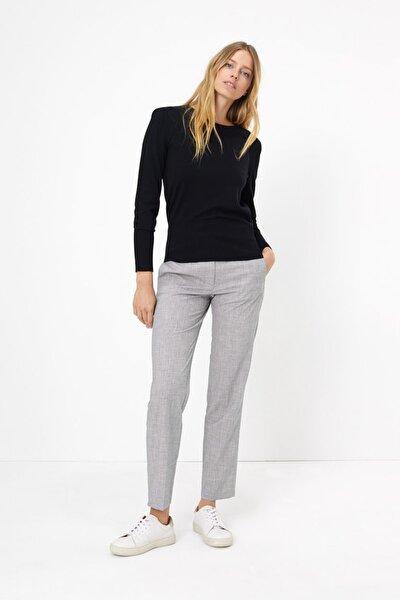 Kadın Gri Straight Leg Pantolon T59005977