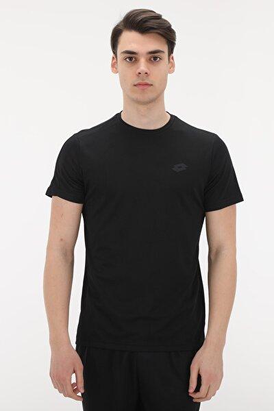 R8805 Lotto Jakar Tee Pl Erkek T-Shirt Siyah