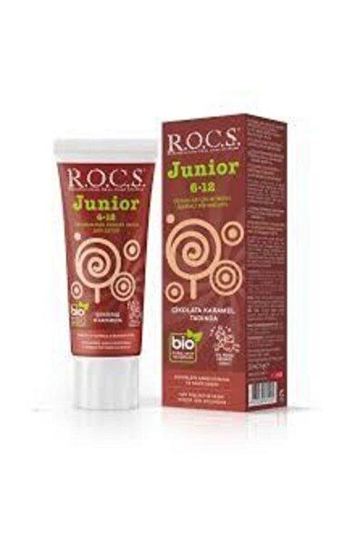 Junior 6-12 Çikolata Karamel Özlü Diş Macunu 60 ml