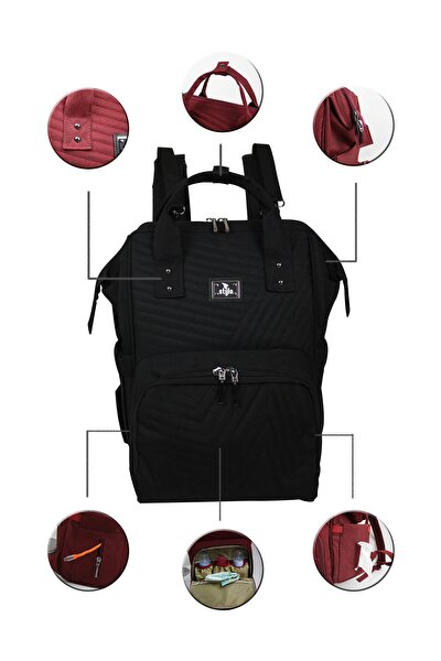 Tokyo Platinum All In One Special Edition Backpack-siyah