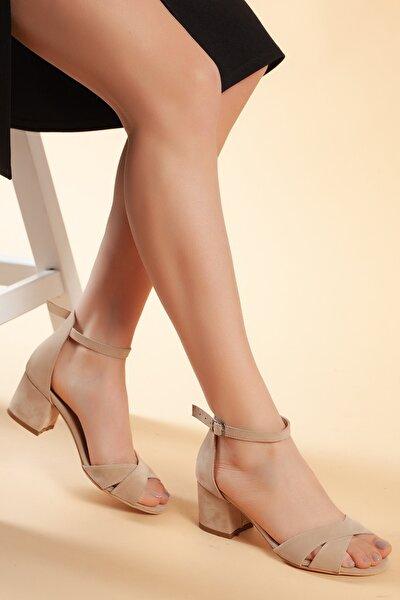 Vizyon-Süet Kadın Ayakkabı DXTRFLRN204