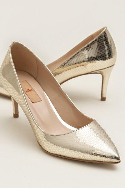 LANNA Gold Yılan Kadın Ayakkabı