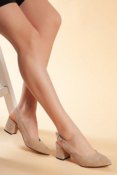 Vizyon-Süet Kadın Ayakkabı DXTRSGZH209