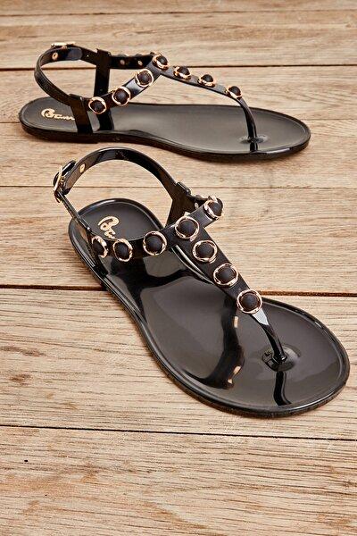 Siyah Kadın Sandalet L05000018