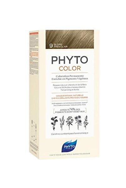 Color 9 Açık Sarı Bitkisel Saç Boyası