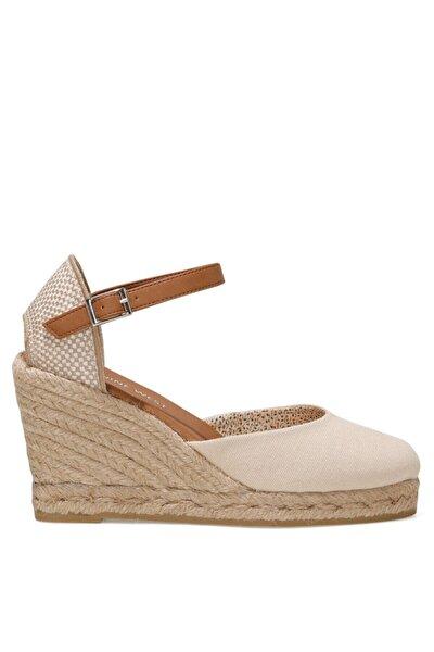 ARTEMISIA 1FX Bej Kadın Dolgu Topuklu Sandalet 101017830