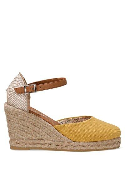 ARTEMISIA 1FX Sarı Kadın Dolgu Topuklu Sandalet 101029968