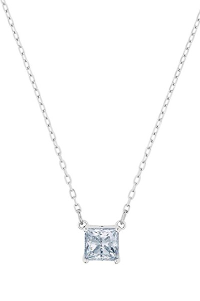 Kolye Attract:Necklace Sq Czwh/Rhs 5510696