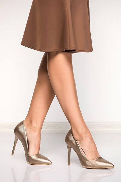 Platin Kadın Topuklu Ayakkabı 8922151909