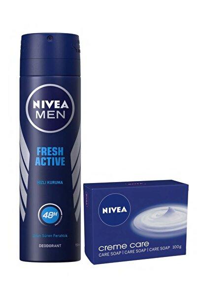 Fresh Erkek Sprey + Nıvea Sabun
