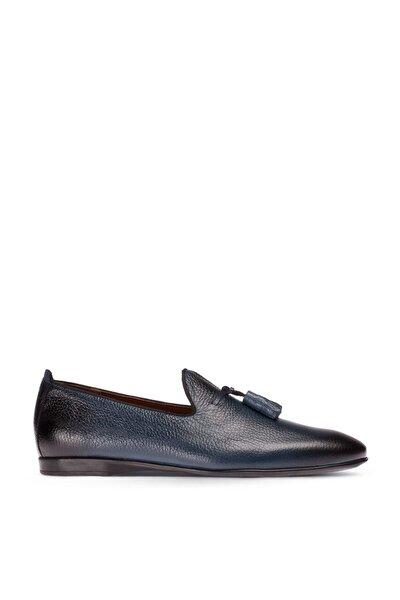 Lacivert Erkek  Loafer Ayakkabı 01702MLCVC01