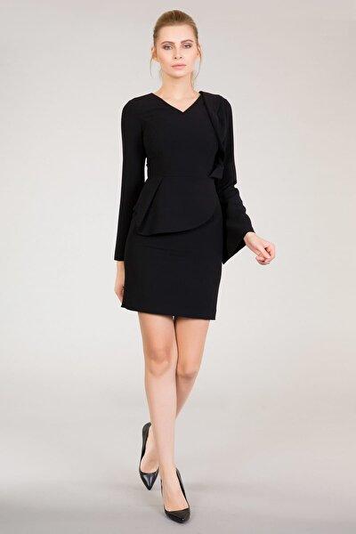 Kadın Siyah Elbise M16K5V09410SX