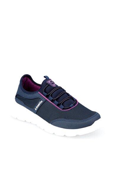 Zeplin W Lacivert Mürdüm Kadın Yürüyüş Ayakkabısı 100373664