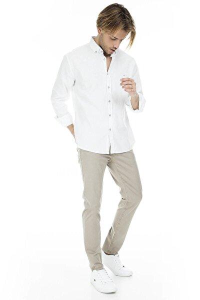 Erkek Bej Jeans - 7200H5986Bartez