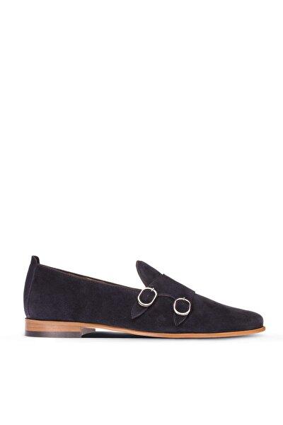 Lacivert Erkek  Loafer Ayakkabı 01705MLCVM01
