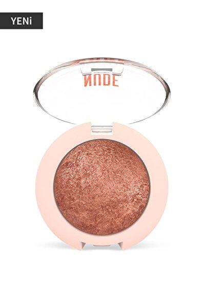 Işıltılı Terracotta Göz Farı - Nude Look Pearl Baked Eyeshadow No:02 Rosy Bron 8691190967260