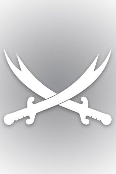 Zülfikar Kılıcı Oto Stıcker 28 cm x 20 cm