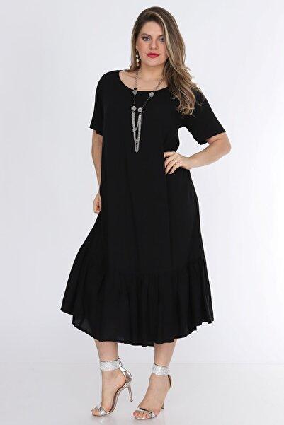Kadın Siyah Elbise 1569