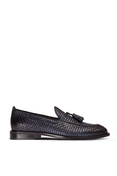 Lacivert Erkek  Loafer Ayakkabı 01642MLCVM02