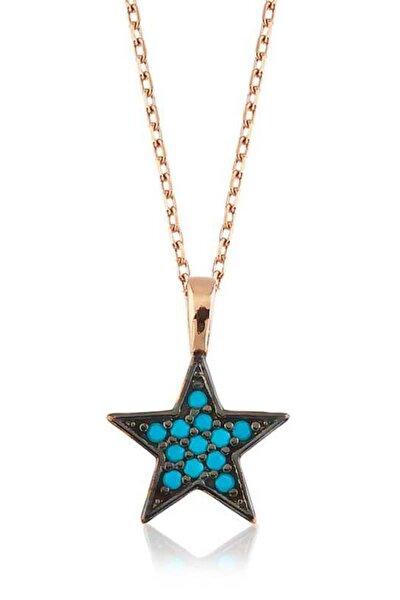 Kadın Mavi Yıldız Kolye PT2610390