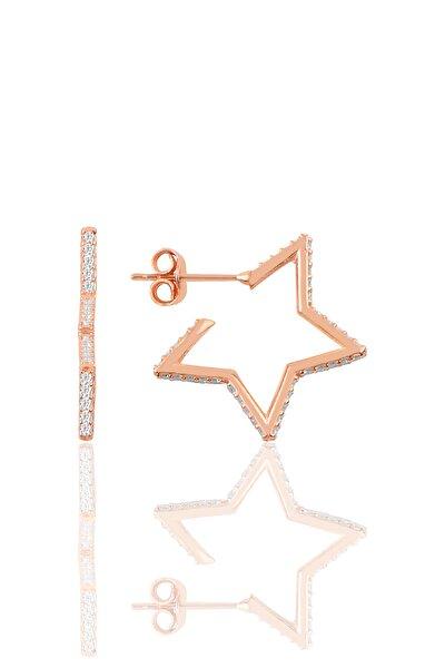 Gümüş Star Küpe SGTL9828
