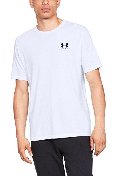 Erkek Spor T-Shirt - SPORTSTYLE LEFT CHEST SS - 1326799-100