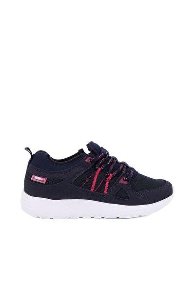 Lacivert Kadın Spor Ayakkabı - 6215  Zenne  - 001Z 6215