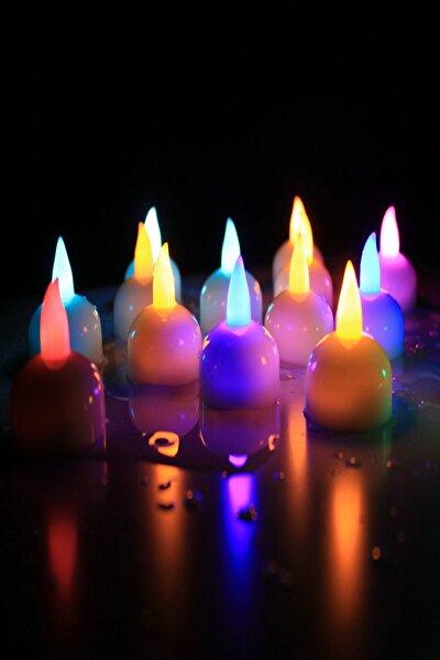 Suda Yanan 6'lı Renk Değiştiren Led Işık