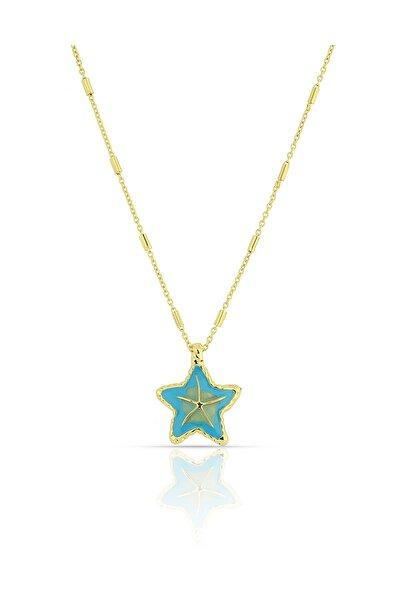 Mavi Deniz Yıldızı Kolye PS0971