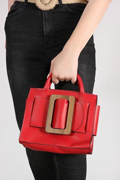 Kırmızı Kadın Abiye Çanta 90501516-05