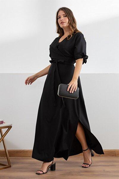 Kadın Siyah Elbise fw9901925eb