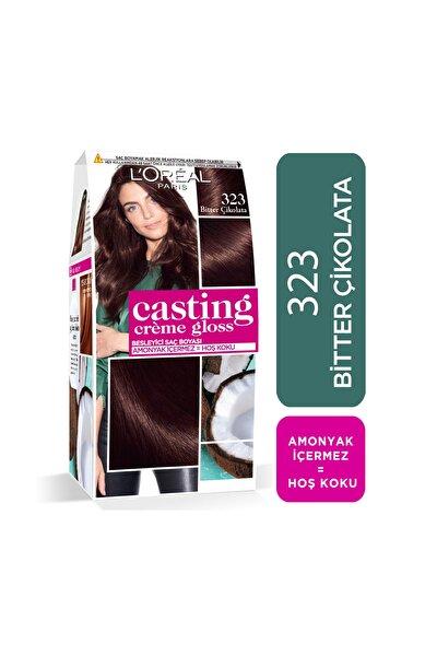 Saç Boyası - Casting Creme Gloss 323 Bitter Çikolata 3600523302932