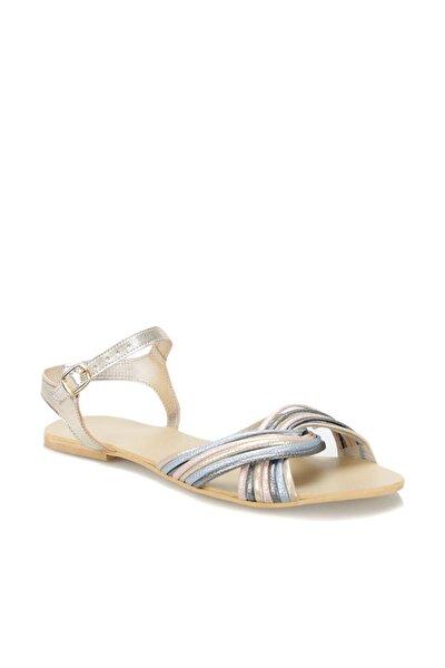 19S-028 Altın Kadın Sandalet 100371330