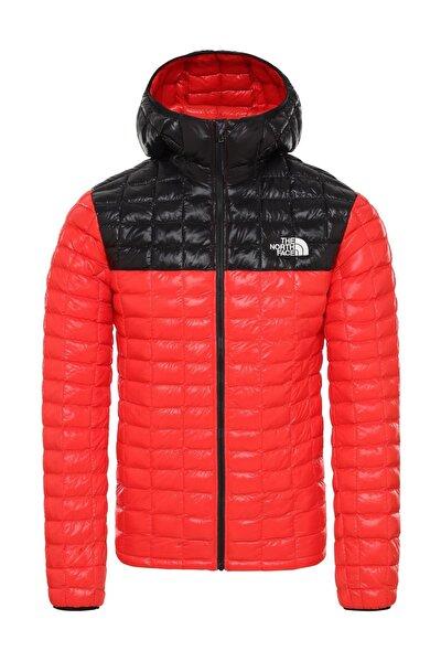 Thermoball Eco Hoodie Erkek Mont Kırmızı/Siyah